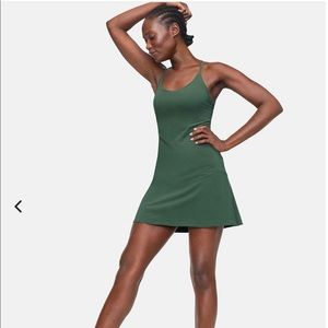Outdoor Voices Exercise Dress - Evergreen